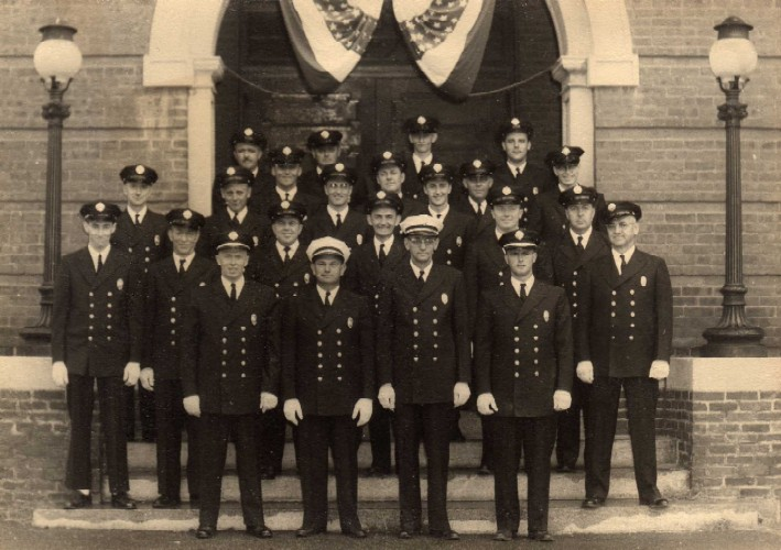 Brookfield Fire Department in 1960
