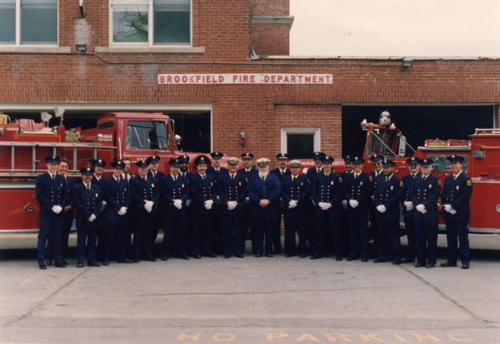 Brookfield Fire Department in 1992