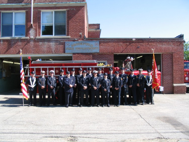 Brookfield Fire Department in 2005