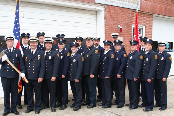 Brookfield Fire Department in 2007