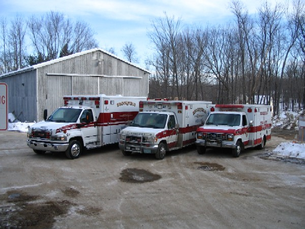 Three Generations of Brookfield Ambulances